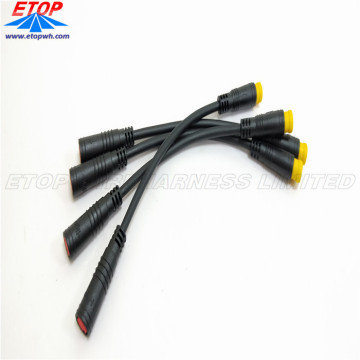 Higo Customized Waterproof Molded Connectors for E-Bike