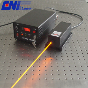 300mw 577nm  solid laser for laser dispaly