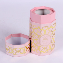 Round Gift Packaging Cylinder Paper Mache Boxes