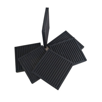 BLACK Rubber Anti-vibration Pads