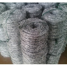 2016 ISO9001-2008 certificate PE/PVC coated barbed wire