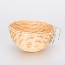 Bowl Shaped Medium Rattan Bird Nest