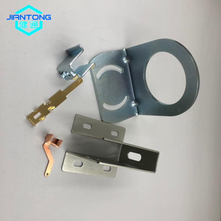 Precision laser cutting bending sheet metal stamping part