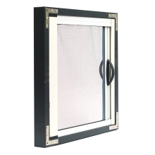 scenic retractable screen window with pvc frame
