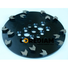 Best Quality for Diamond Cup Wheel Diamond Grinding Plate with Special Segments supply to Netherlands Factories
