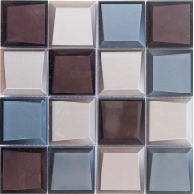 Discount Price Pet Film for Glass Decoration special 3D mosaic tile export to Dominican Republic Importers