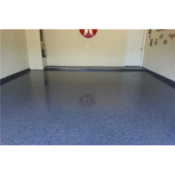 Epoxy color sand decorative floor