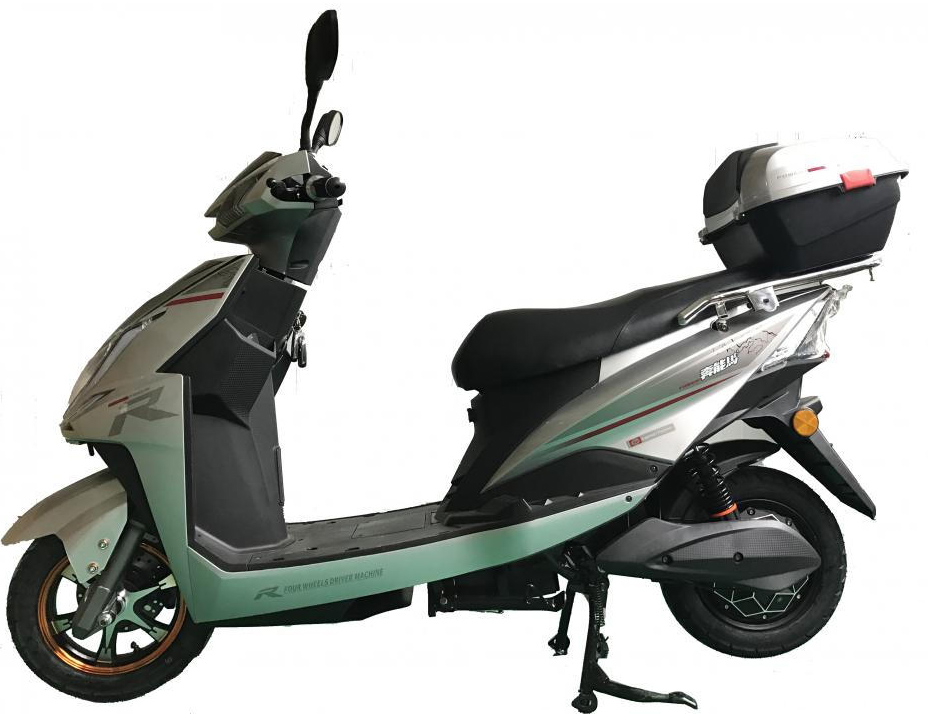 Fashion trunk rear electric scooter
