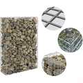 Stone Rock Filled Gabion Box
