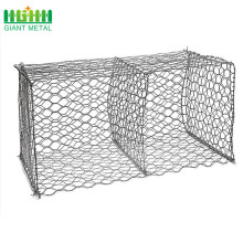 PE Coated Woven Gabion Boxes For Sale