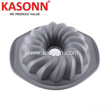 Good Quality for Silicone Baking Molds Shallow Silicone Fluted Bundt Mold Pan export to French Guiana Exporter