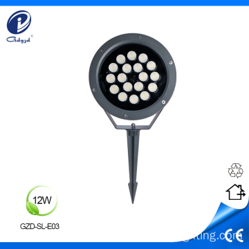 Insert ground light 12W led lawn light