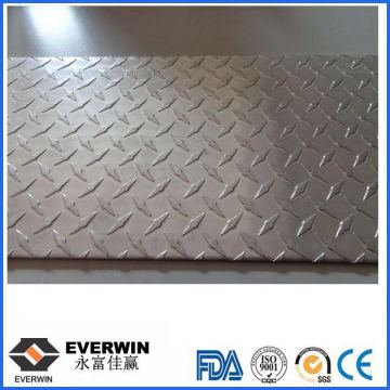 Anti-Slip Aluminum Five Bar Plate Sheet 1100