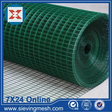 Colorful PVC Coated Welded Wire Mesh