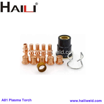 A-81 Plasma Cutting Torch Consumables