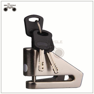 V-shaped anti-theft bicycle motor bike disc brake lock for sale