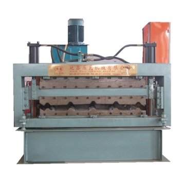 Double layers ibr roof sheet roll forming machine