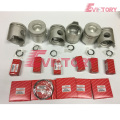 excavator 6D22T engine gasket bearing piston ring liner