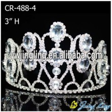 Wholesale  Chunky Rhinestone Pageant Crowns