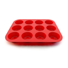Supply for Silicone Muffin Pans silicone muffin mold and pan 12 cups supply to Fiji Exporter