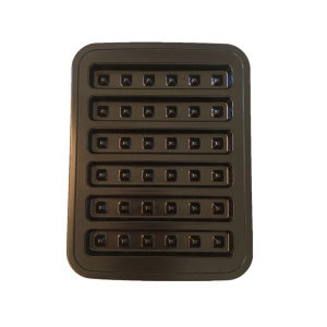 China Manufacturers for Carbon Steel Cake Pan Oven Baking Molds Carbon Steel Waffle Tray Pan supply to Portugal Wholesale