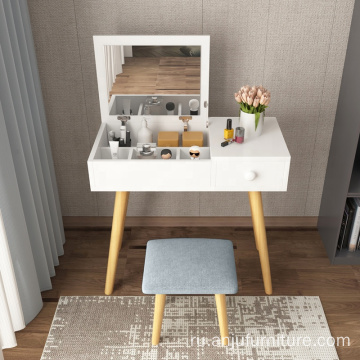 Cosmetic Makeup dressing table with drawers