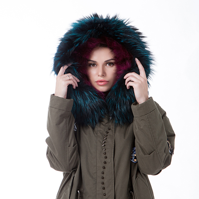 Fashion fur winter coat