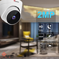 Indoor 2mp hd dome security camera