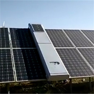 Waterless Solar Panel Cleaning Robot