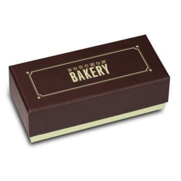 Paper Macarons Gift Box with Dividers