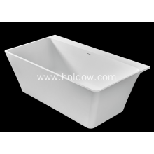 Purchasing for Back To Wall Bathtub Pure acrylic stone resin bathtub for bathroom supply to Egypt Supplier