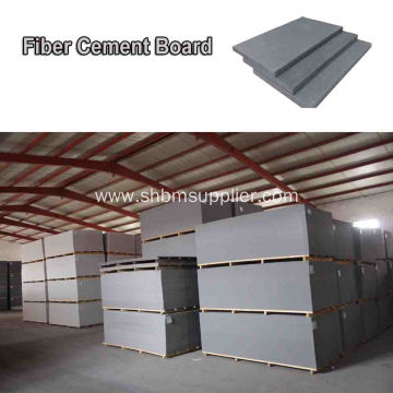 External Non-toxic Moistureproof 12mm Fiber Cement Boards