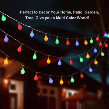 Led Ball Globe Colored Fairy String Lights