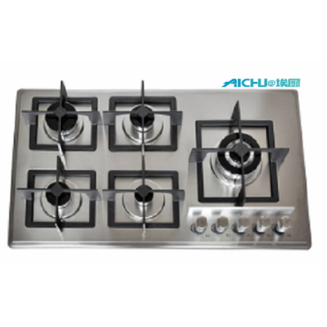 5 Burners Slim S.S Gas Hob
