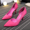 2019 Pink Official Formal High Heel Shoes