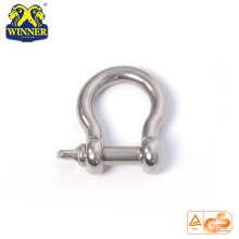 High Quality for  Stainless Steel Shackle Heavy Duty U Shackle export to China Taiwan Importers