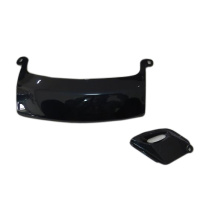 China for Mini Vespa Scooter Spare Part 008 125CC Gas  Scooter Spare Part Plastic Side Cover Left supply to Indonesia Manufacturer