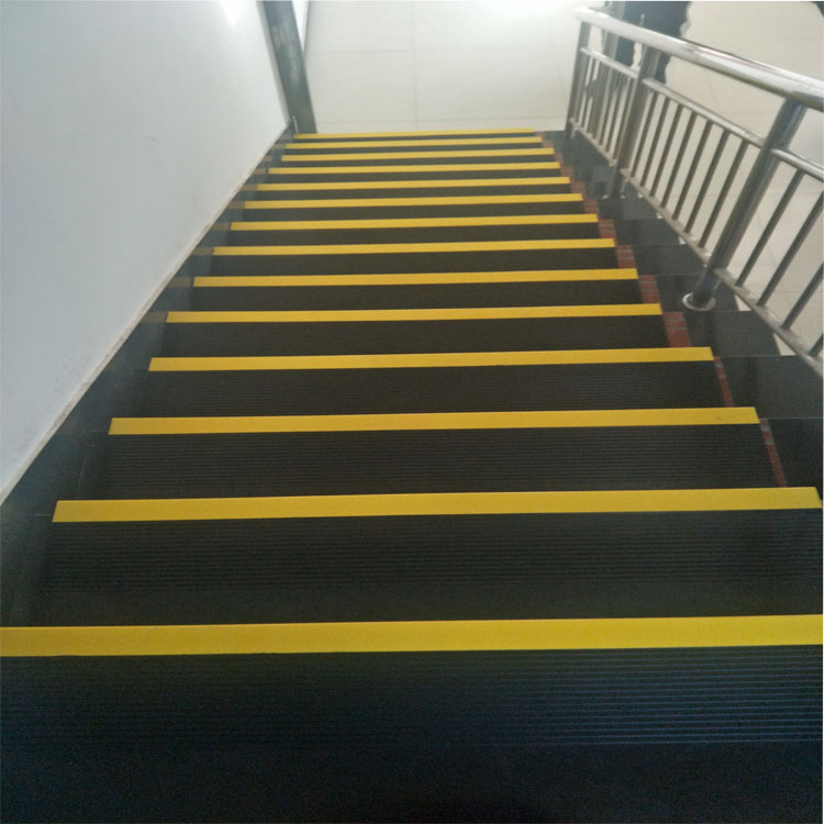 rubber covered stair tread
