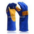 Cowhide Safety Leather Welding Protection Gloves