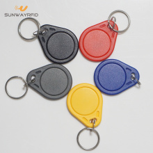 Low Cost for Abs Custom NFC Keyfob Cheap 125khz/13.56mhz ABS RFID Keyfob for access control export to Cote D'Ivoire Manufacturers