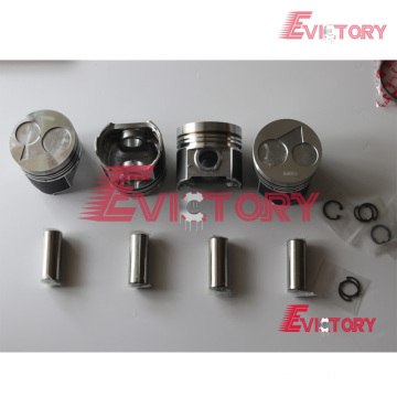 KUBOTA V2203DI rebuild overhaul kit gasket bearing piston