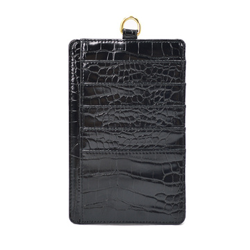 Genuine Leather Credit Card Holder With Card Slots