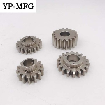Professional customized cnc machining service motor gear