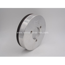 Resin bond diamond grinding wheel for glass