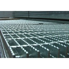 Steel bar grating processing