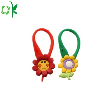 Best Selling Lovely Silicone Zipper Pull for Bag