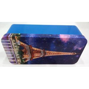 Customized printing Metal Stationery Tin Box