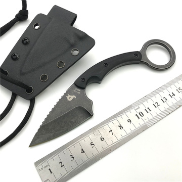 Fox Karambit Knife FIxed Blade with Sheath