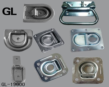 Steel Lock Rring Galvanized Lashing Ring