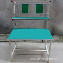 Wholesale Price for Esd Assembly Desk The Assembly Line Working Table with Lighting export to India Supplier